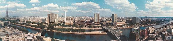 Le Front de Seine prend forme dans les années 1970