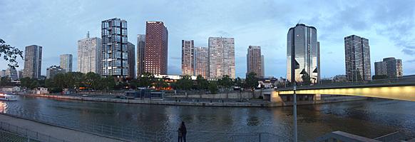 Le Front de Seine de nos jours